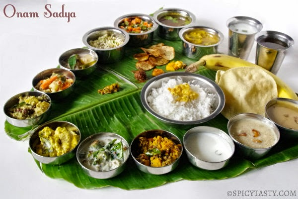 Onam sadya in my home