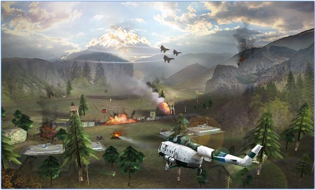 Gunship Strike 3D MOD apk free download