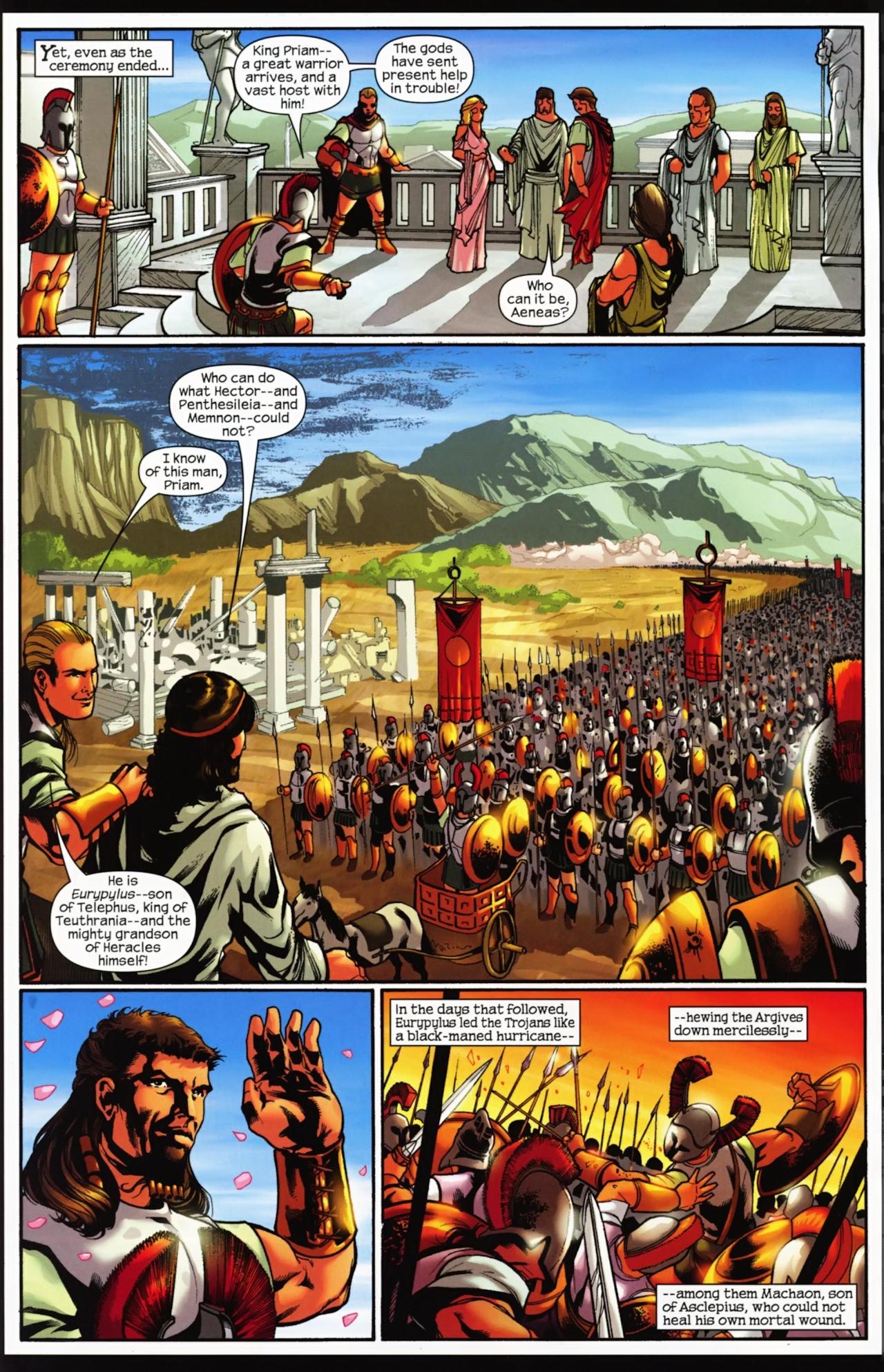 Read online Trojan War comic -  Issue #4 - 19