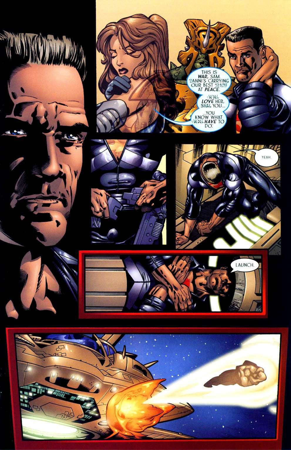 Read online Sigil (2000) comic -  Issue #13 - 19