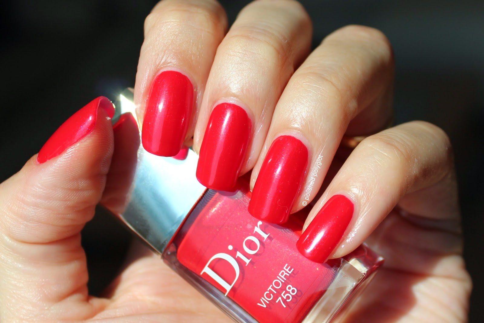 NOTD: Dior 775 Victoire / Polished Polyglot