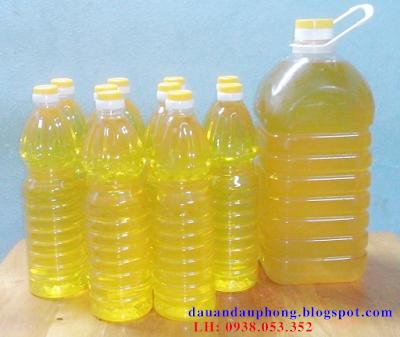 dầu đậu phộng nguyên chất