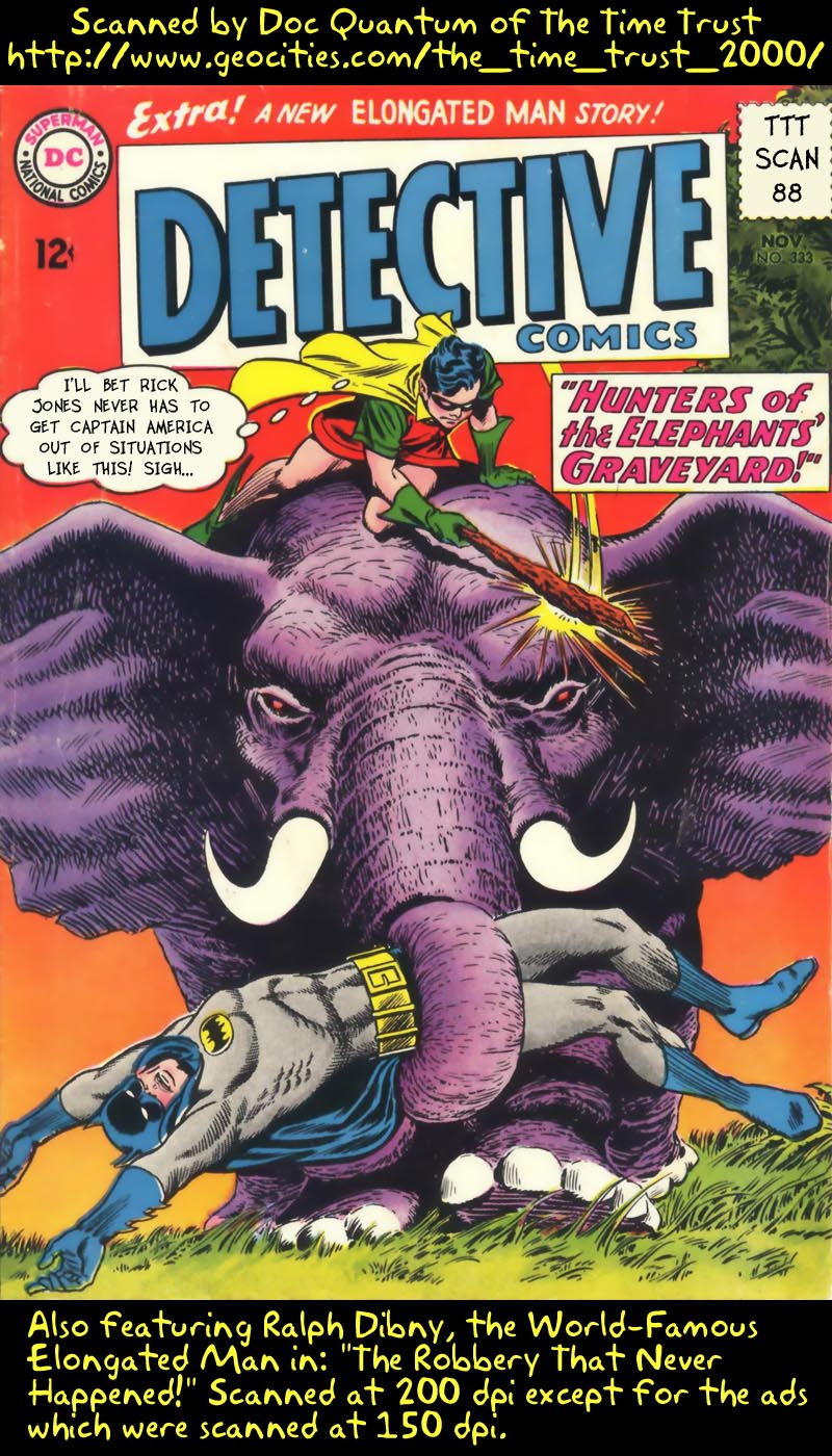 Detective Comics (1937) 333 Page 1