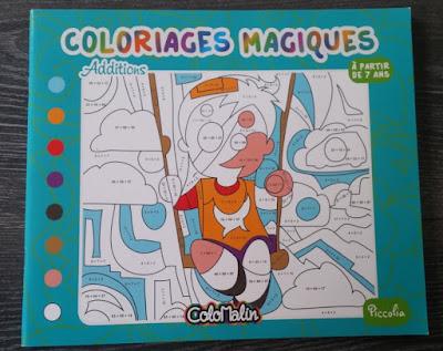 coloriage magique