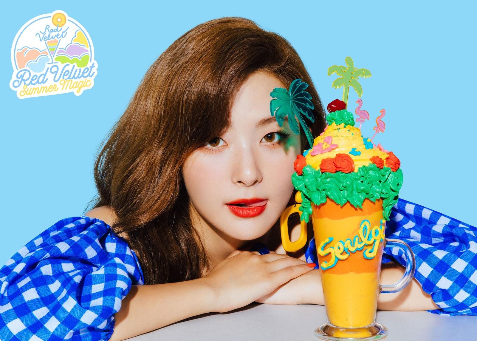 Abundance Of Colorful Teasers For Red Velvet S New Single Power Up