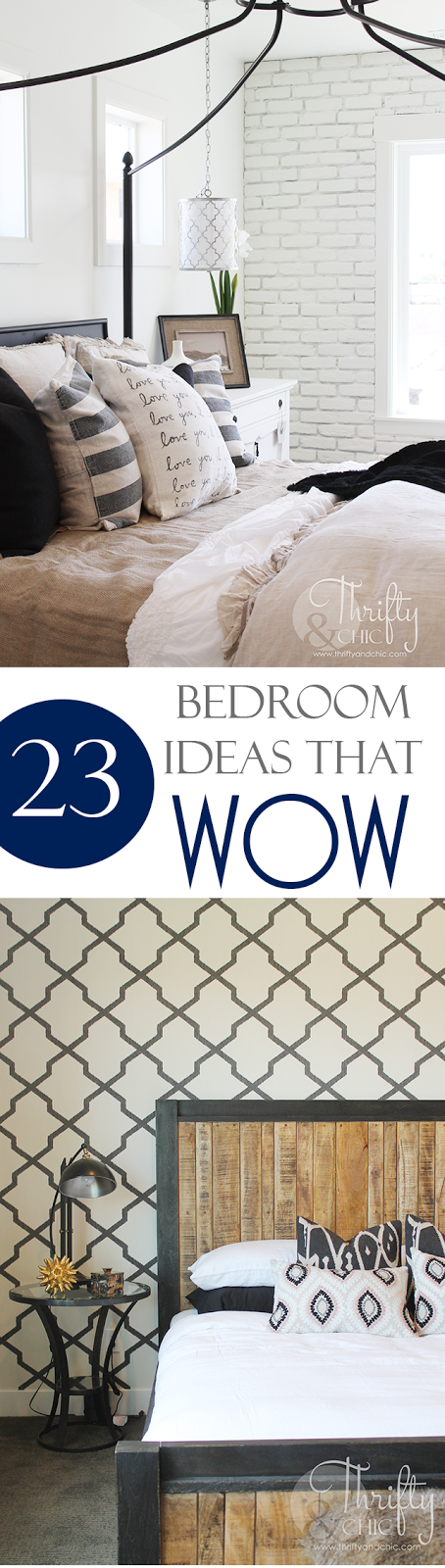 Thrifty and Chic   DIY Projects and Home Decor 23 amazing bedroom wall and ceiling ideas worth stealing  Bedroom decor and decorating  ideas