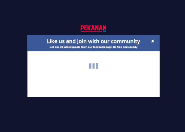 Cara Membuat Pop Up Fans Page Facebook Dengan Tombol Close di Blog