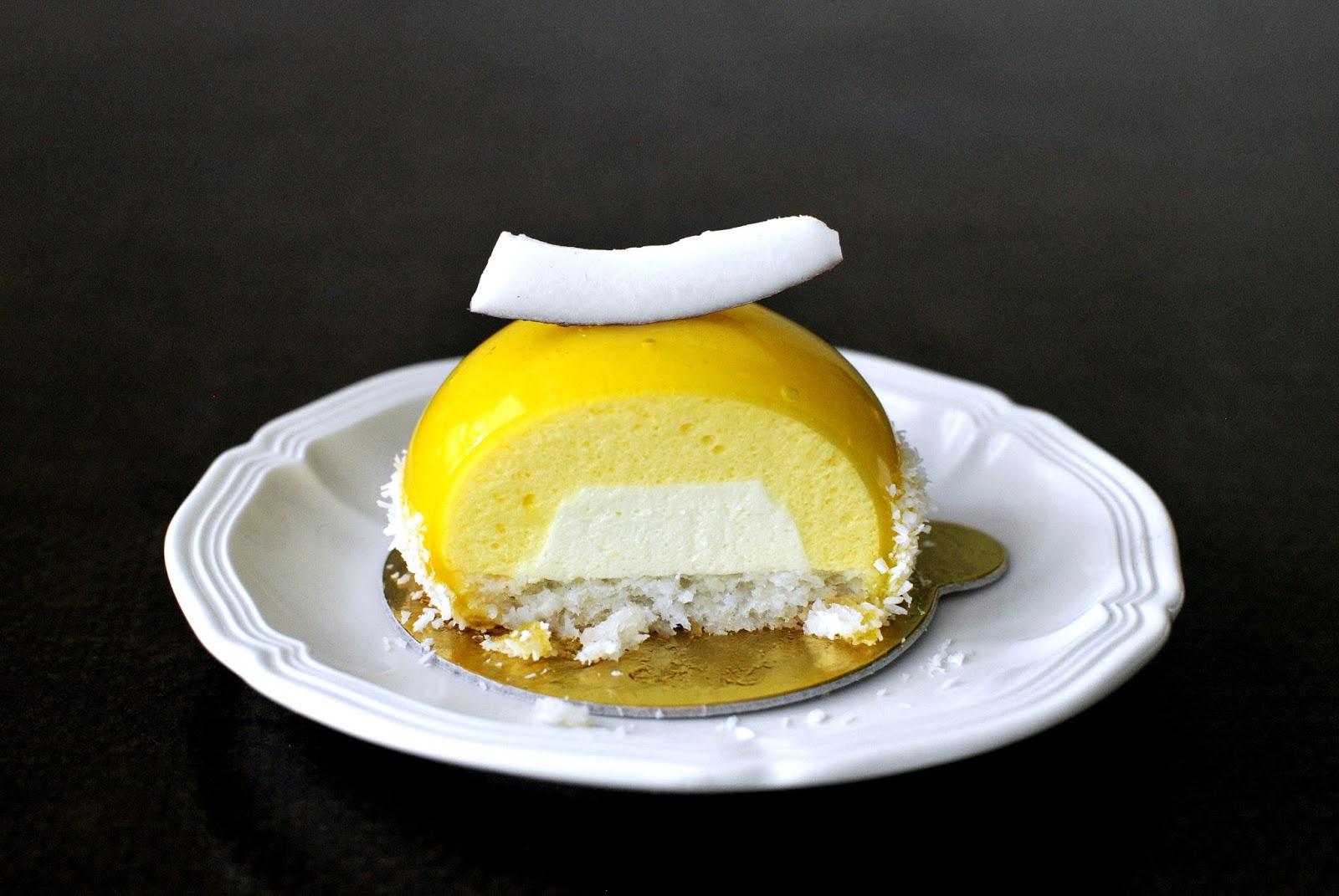 Passionfruit Coconut Cake