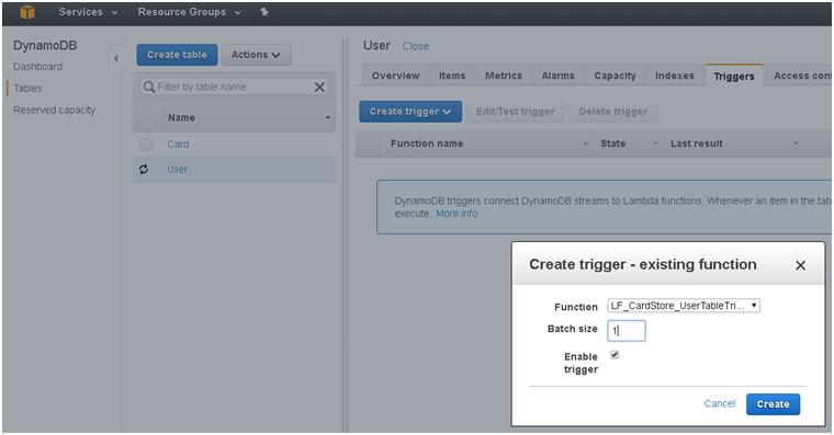 Serverless User Activation Mechanism with Amazon Lambda, Amazon Step