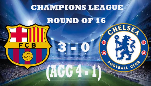 Barcelona Lolos Setelah Permalukan Chelsea - Berita Sport 99