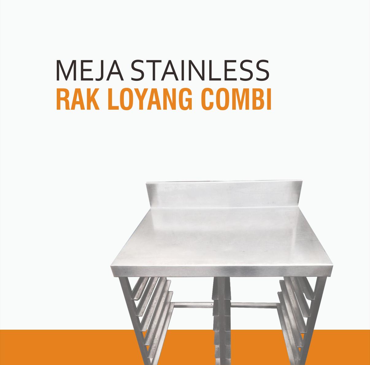 Harga Meja DapurHarga Meja Stainless Bakery Murah Plus Rak LoyangStainless Steel Murah dan Bagus