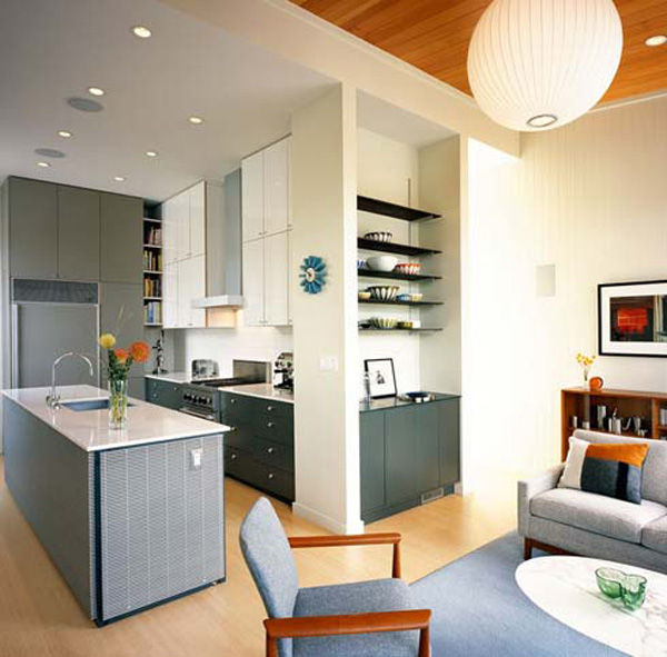 Gambar 4 Rekabentuk Dapur Ideal