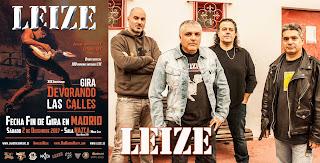 Concierto fin de gira de Leize en Madrid