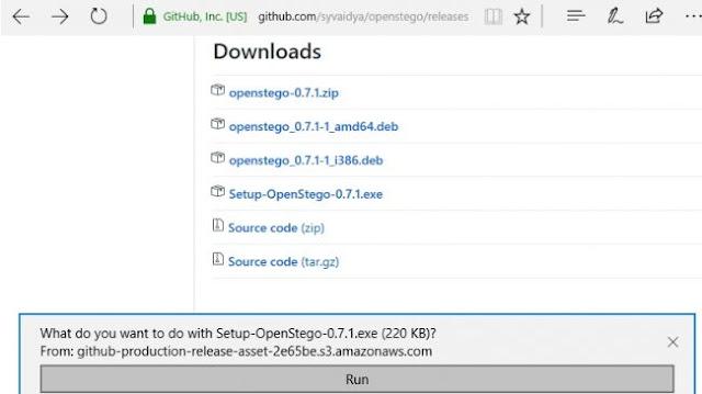 Download OpenStego