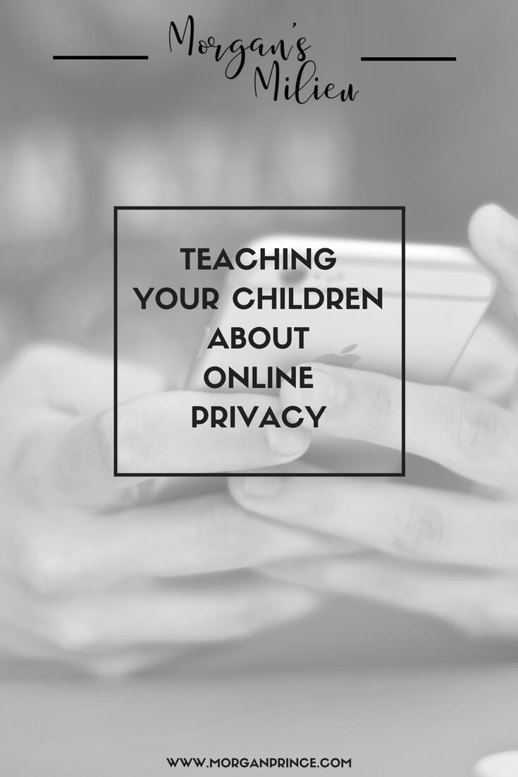 "Have you taught your children about online privacy? What do they know? It's becoming more important so maybe it's time to tackle it? Image for ""Teaching your children about online privacy"""