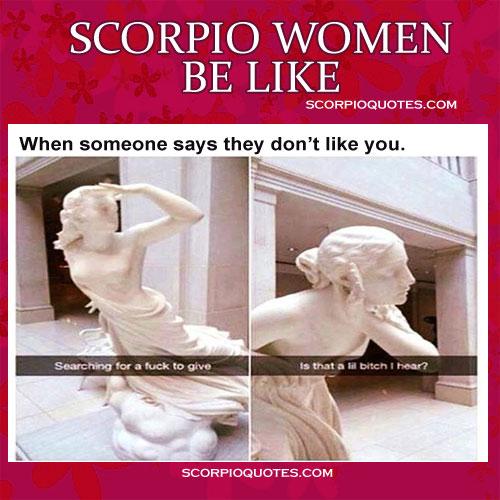 Scorpio Woman Meme Be Like 1