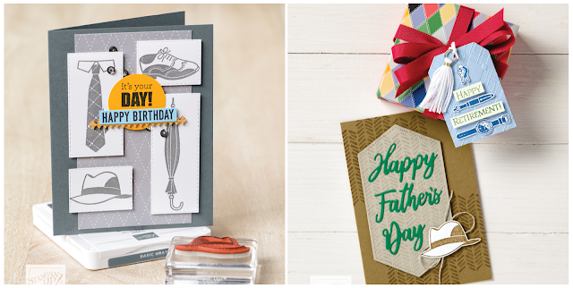 Well Dressed samples | item 152300 | Stampin' Up! Sale-A-Bration second release level 1 item