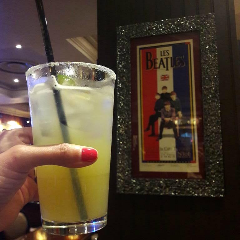 Electric Blue Cocktail Hard Rock Cafe