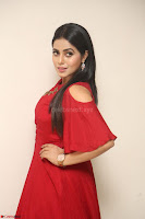 Poorna in Maroon Dress at Rakshasi movie Press meet Cute Pics ~  Exclusive 153.JPG