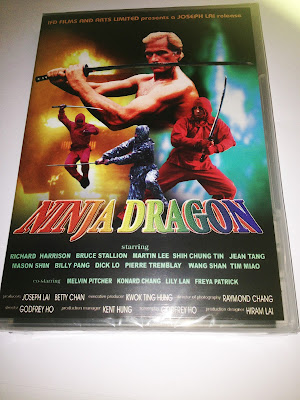 ninja dragon dvd