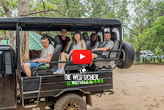 Udawalawe Nationalpark Safari in Sri Lanka, Weltreise, Die Wegsucher, Arkadij und Katja