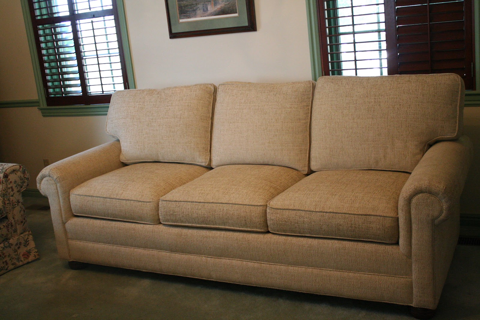 Tan Fabric Sofa Tan Fabric Traditional Sofa Loveseat Set W
