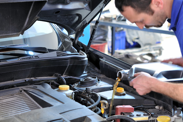 Have Your Oil and Important Fluids Checked for National Car Care Month