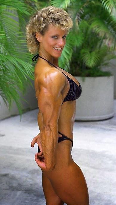 80s Female Muscle Valerie Basilone