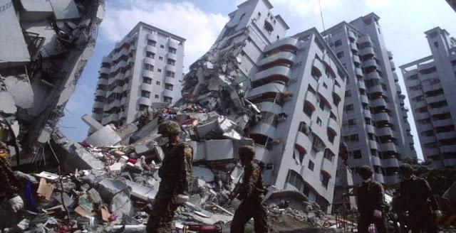 تفسير رؤية الزلزال و إنهيار المباني في المنام