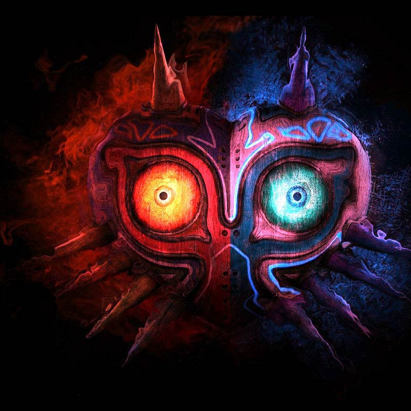 majoras mask wallpaper engine free wallpaper engine