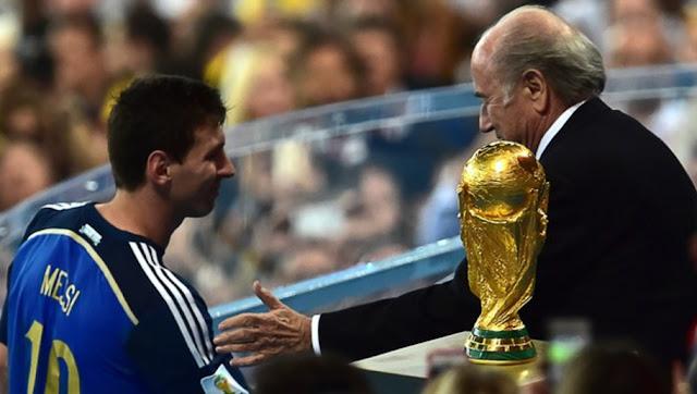 Messi Argentine Coupe du Monde