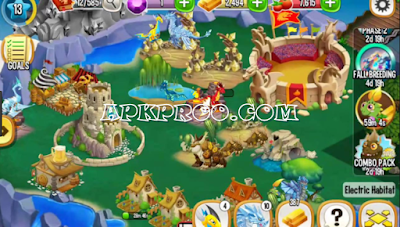 Download Game Dragon City Mod Apk Unlimited Gems And Money