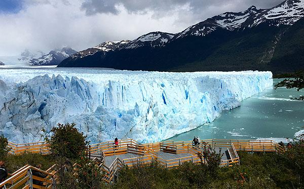 Passarelas do Glaciar Perito Moreno em El Calafate