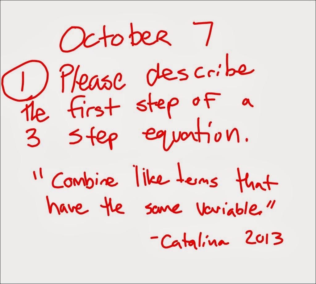 Mr Schoolar Math October