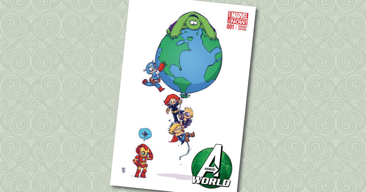Avengers World 1 Comic Variant Cover