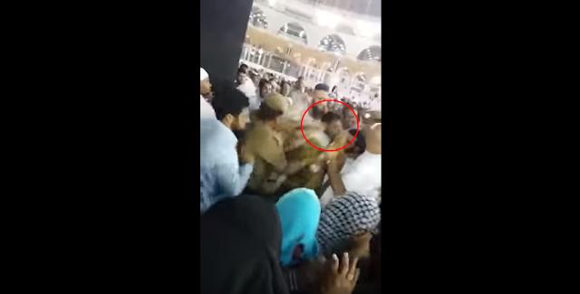 Identitas pria itu belum diketahui, namun dia disebut sebagai warga Saudi berusia 40 tahun