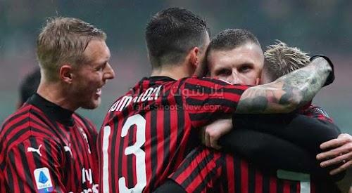 ميلان يحقق فوز صعب على فريق تورينو ويتقدم في ترتيب الدوري الايطالي