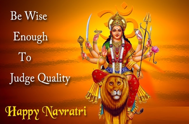 Navratri Images With Quotes