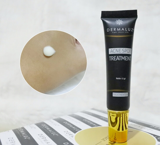 Review Dermaluz Acne Series Package