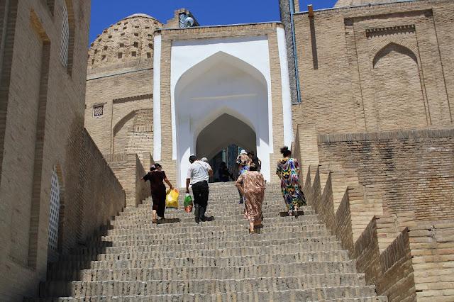 Ouzbékistan, Samarcande, Shah-i-Zinda, © L. Gigout, 2010