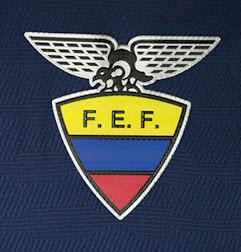 aa8e06877 The new Ecuador 2015 Away Jersey comes with a unique v-collar featuring a  slick design.