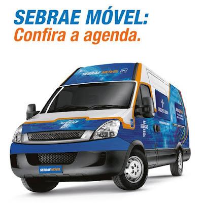 Sebrae Móvel prestará atendimento em 12 cidades do Vale do Ribeira em julho e agosto