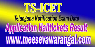 Telangana TS ICET 2016 Notification Fee Payment ExamDates Halltickets Rankcard Results Counselling