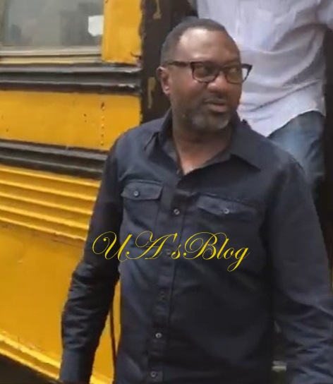 Billionaire Mogul, Femi Otedola Seen Inside 'Molue' In Lagos (Watch)