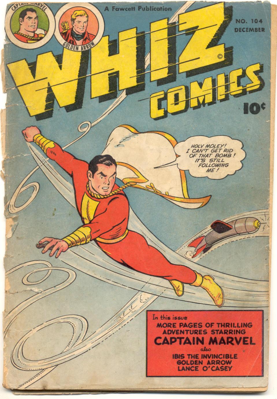 WHIZ Comics 104 Page 1
