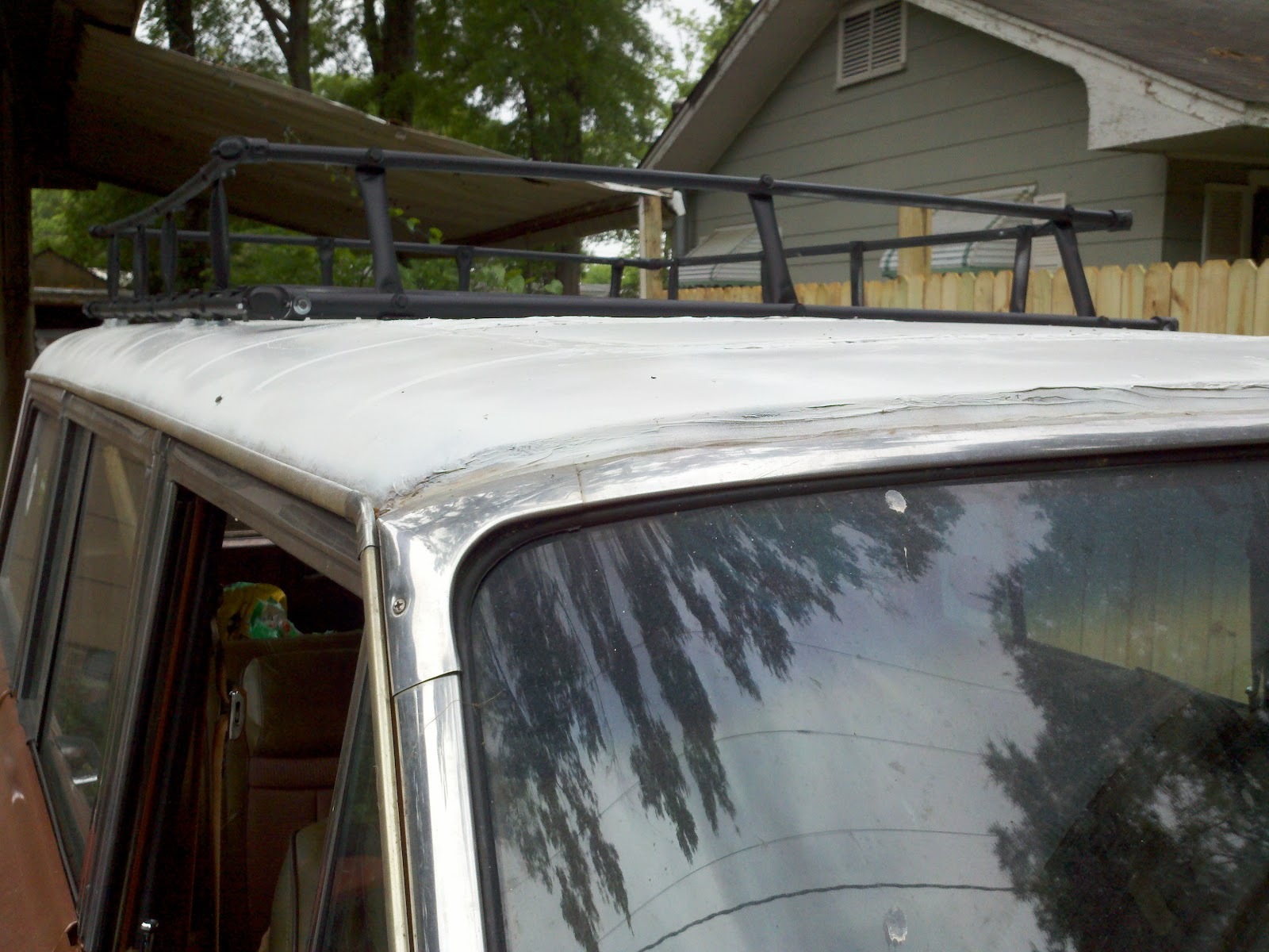 R. Wright Photography: Jeep Wagoneer EMT Conduit Roof Rack