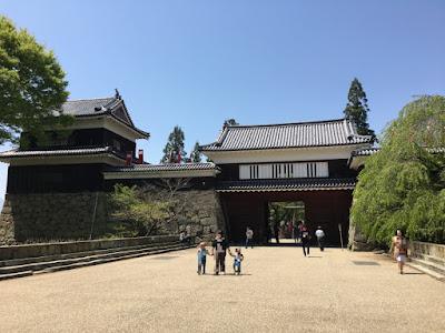 上田城址 門と櫓