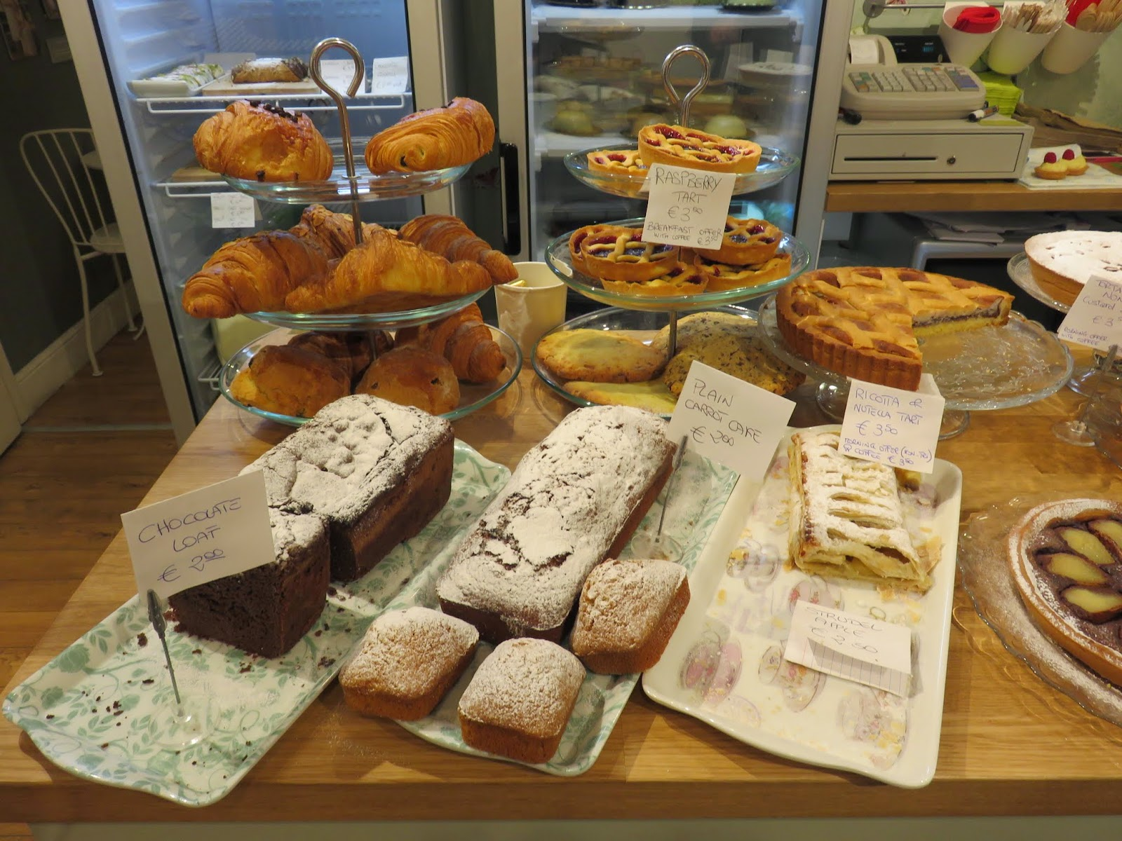 Pastries and Cakes at Sweet Sicily in Dublin