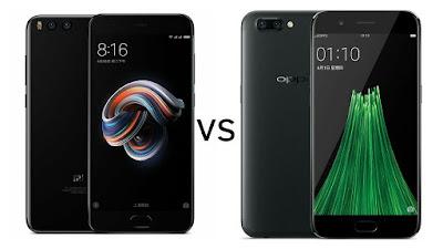 Xiaomi Mi Note 3 vs Oppo R11