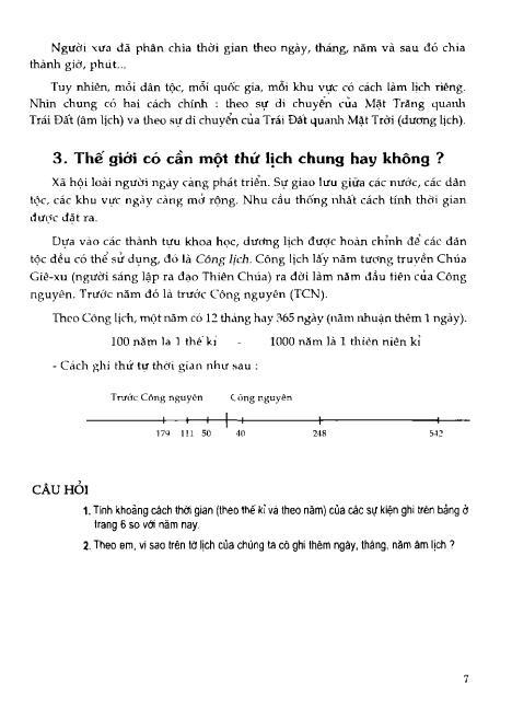 Trang 8 sach Sách Giáo Khoa Lịch Sử Lớp 6